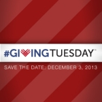 Giving Tuesday red square